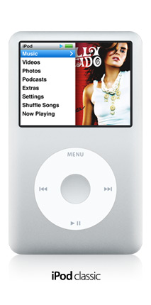 iPod Classic updated