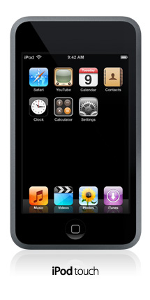 iPod Touch released